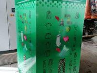 Patru puncte de colectare pentru donarea de haine şi încălţăminte