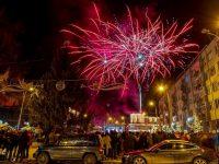 Revelion în aer liber la Câmpulung Moldovenesc