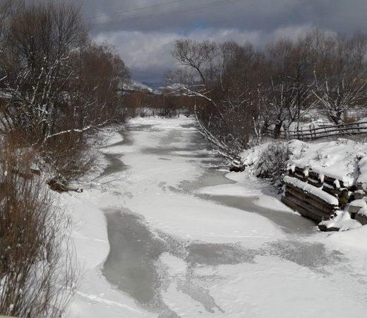 Au fost raportate mai multe aglomerări de gheţuri pe râurile Bistriţa, Bistriţa Aurie şi Dorna