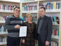 Biblioteca Bucovinei, Biblioteca USV şi Societatea Bibliotecarilor Bucovineni din Cernăuţi au semnat primul protocol de colaborare
