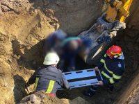 Un muncitor a fost surprins de un mal de pământ