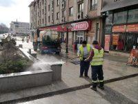 Primăria Suceava a început curăţenia de primăvară