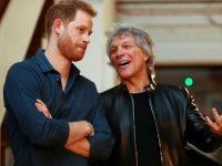Jon Bon Jovi a înregistrat o piesă cu prinţul Harry