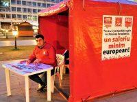Sute de suceveni au semnat pentru introducerea salariului minim european