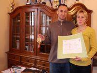 """Familia campionilor Cristina şi Silviu Casandra, tot în """"competiţie"""", dar la domiciliu"""