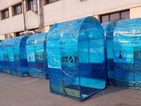 Elevii nu sunt obligaţi să treacă prin tunelul de dezinfecţie de la intrarea în şcoală