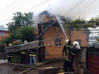 Incendiu devastator la Berchişeşti