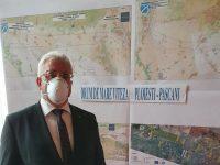 Primarul Ion Lungu a participat ieri la întâlnirea privind infrastructura rutieră din zona Moldovei