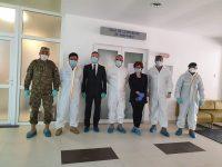 Prefectura Suceava a mulţumit conducerii militare a Spitalului Judeţean pentru gestionarea eficientă a crizei generate de epidemia de Covid-19