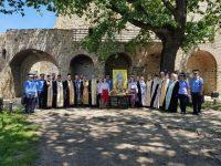 Sfântul Voievod Ştefan cel Mare, cinstit la Cetatea de Scaun a Sucevei de preoţii pensionari din Protopopiatul Fălticeni