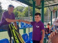 Micii tenismeni fălticeneni au urcat pe podium la Bistriţa