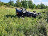Accident rutier cu doi răniţi