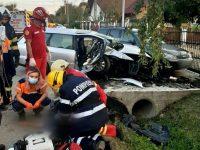Grav accident rutier pe raza localităţii Dărmăneşti