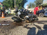 Un motociclist în vârstă de 20 de ani a fost grav rănit la Bosanci