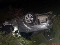 Grav accident, trei persoane rănite şi cinci maşini implicate