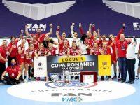 SCM Râmnicu Vâlcea a cucerit Cupa României