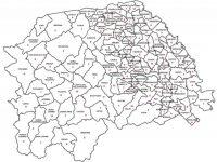 Harta cazurilor de Covid-19 în judeţul Suceava