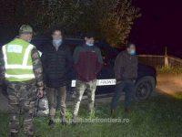 Trei algerieni, care au trecut ilegal frontiera româno-ucraineană, au fost prinşi la Vicovu de Sus