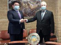 Primarul Ion Lungu a discutat cu ambasadorul din Kazahstan despre eventuale colaborări