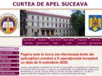 Curtea de Apel Suceava lansează noul site al instituţiei