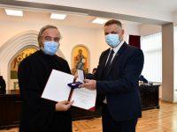 """Pr. Radu Şerban Nicolau, din cadrul IJJ Suceava, distins cu """"Emblema de onoare"""" a MAI"""