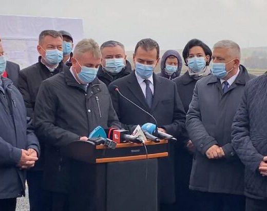 Ludovic Orban a inaugurat centura municipiului Rădăuţi