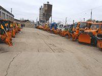 Primarul Ion Lungu a inspectat utilajele pregătite pentru sezonul de iarnă