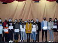 """Sportivii fălticeneni merituoşi au fost premiaţi în cadrul celei de-a III-a ediţii a """"Galei premiilor de excelenţă"""""""