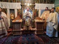 Sf. Liturghie arhierească în Parohia Iaz