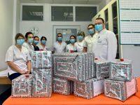 Daruri de Crăciun pentru micuţii pacienţi