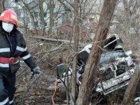 Tânărul de la volan a încetat din viaţă la spital, după câteva ore