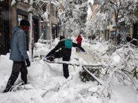 Spania, paralizată de furtuna de zăpadă, trimite vaccinuri şi alimente în zonele afectate