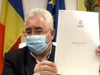 Ion Lungu semnează Declaraţia de la Paris
