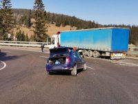 Accident rutier cu trei răniţi