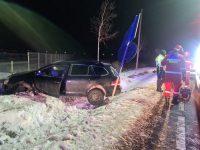 Accident produs din cauza vitezei