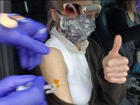 Actriţa Jane Fonda s-a vaccinat împotriva coronavirusului