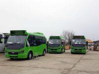 Încă şapte autobuze electrice mici au ajuns la Suceava