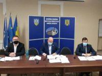 Prefectul Iulian Cimpoeşu a prezentat principalele probleme cu care s-a confruntat în prima lună de mandat