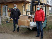 Rotary Club Suceava Cetate a donat echipamente sanitare pentru personalul de la CRRN Sasca Mică