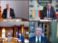 Întâlnire online cu reprezentanţii partenerilor Sucevei din Schwaben, Mayenne şi Cernăuţi