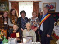 Un veteran de război a fost sărbătorit la împlinirea vârstei de 100 de ani
