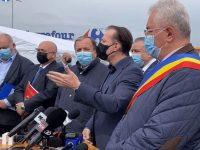 Premierul Florin Cîţu a venit la Suceava pentru impulsionarea campaniei de vaccinare