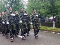 Veteran din Baia, petrecut cu onoruri pe ultimul drum
