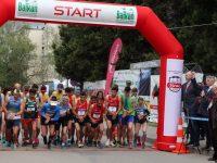 Primarul Mihăiţă Negură, la startul seniorilor de la Campionatul Balcanic de alergare montană pentru seniori şi juniori 1
