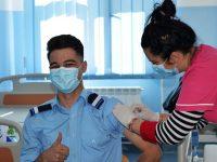 """Imunizare în rândul elevilor Colegiului Naţional Militar """"Ştefan cel Mare"""""""
