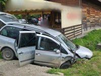 Şapte persoane implicate într-un accident rutier