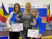 Trei medalii pentru sucevencele Mădălina Sîrbu şi Talida Sfarghiu