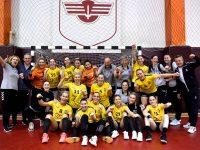 Minaur Baia Mare, cu antrenorul Costică Buceschi şi Anca Polocoşer, jucătoare, la cel mai bun sezon din istorie