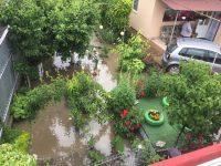 Ploile abundente au produs pagube în municipiul Suceava