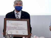 """Prof. univ. dr. ing. Radu Leontie Cenuşă a primit titlul """"Profesor emeritus"""" al USV"""